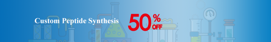 custom peptide synthesis 50% off